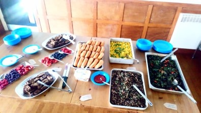 In the end, I reckon the brunch spread looked pretty well balanced.